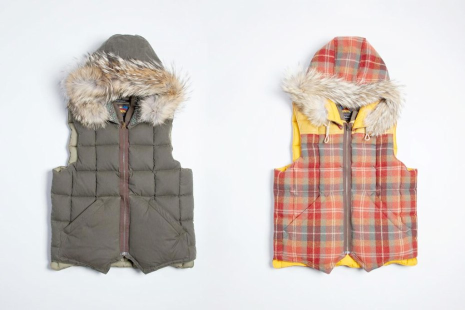 Image of Eddie Bauer x Nigel Cabourn Canadian Vest