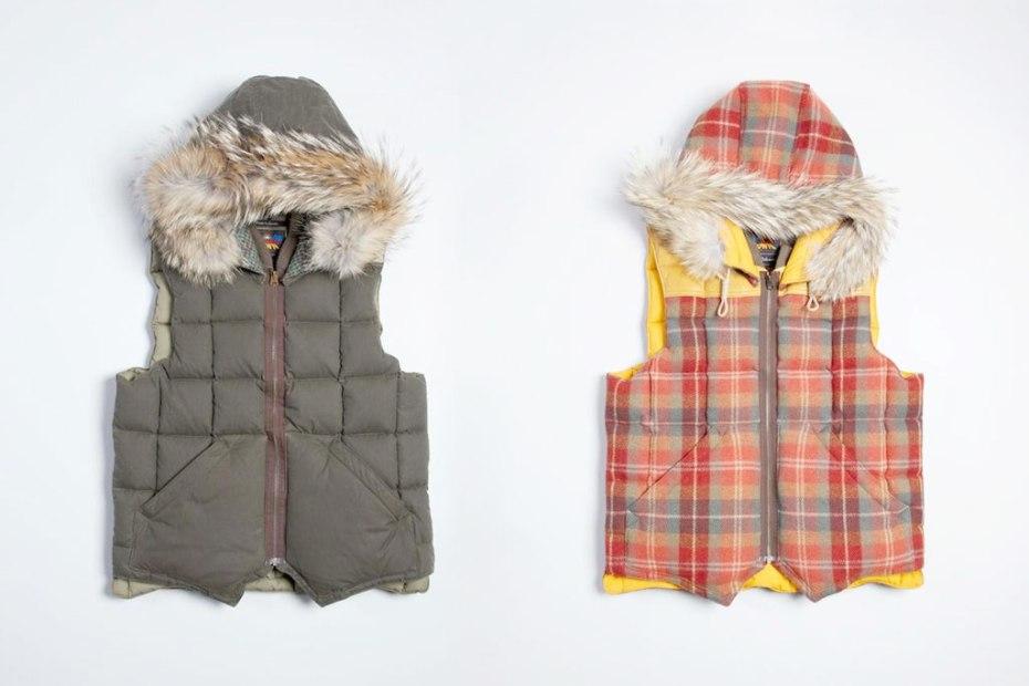 Image of Eddie Bauer x Nigel Cabourn Canadian Vest