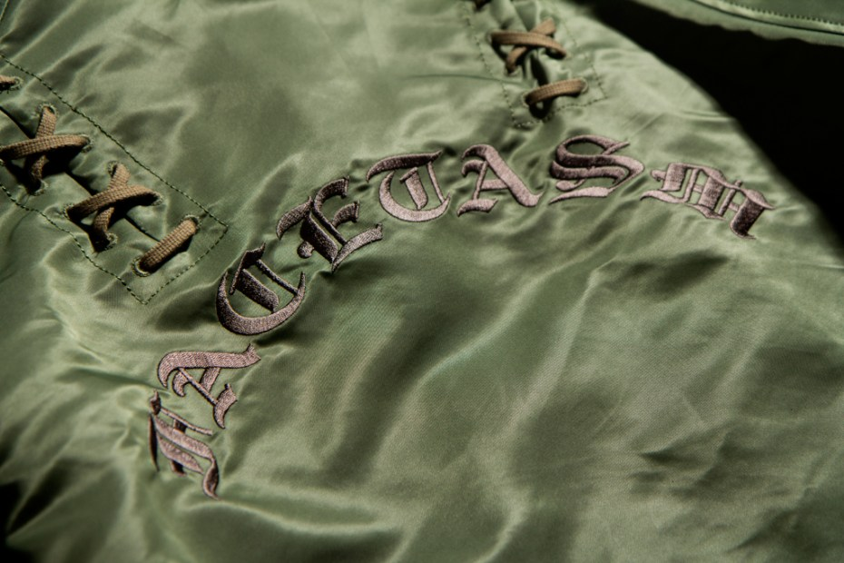 Image of FACETASM Laced Coach Jacket