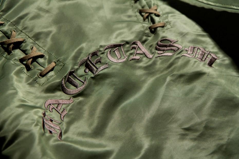 Image of FACETASM Laced Coach Jacket