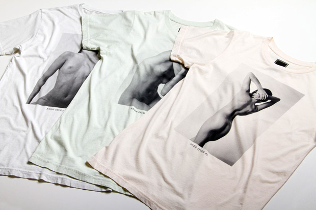 "Image of Freshjive 2011 Fall ""The Nude Study Series"" T-Shirts (NSFW)"