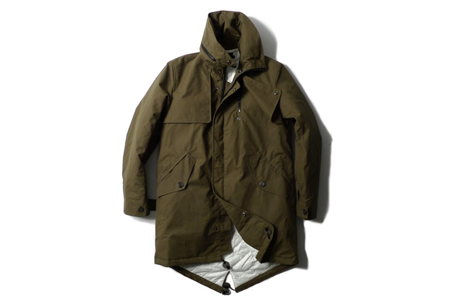 Image of Heritage Research x wings + horns 2011 Fall/Winter Fishtail Parka