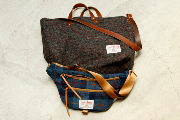 Image of hobo Harris Tweed Tote & Shoulder Bag vendor NAGOYA Exclusive
