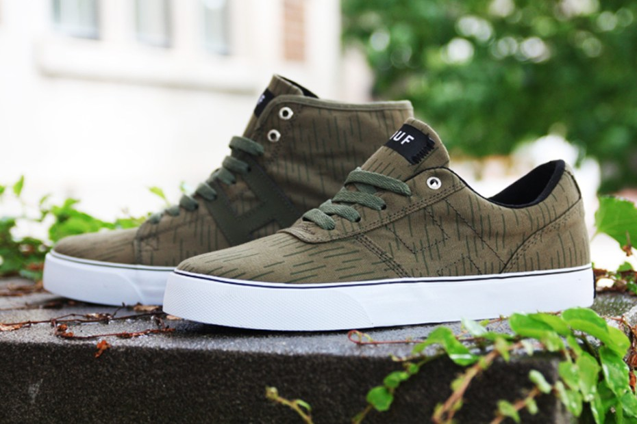 "Image of HUF 2011 Fall/Winter ""Rain Camo"" Collection"