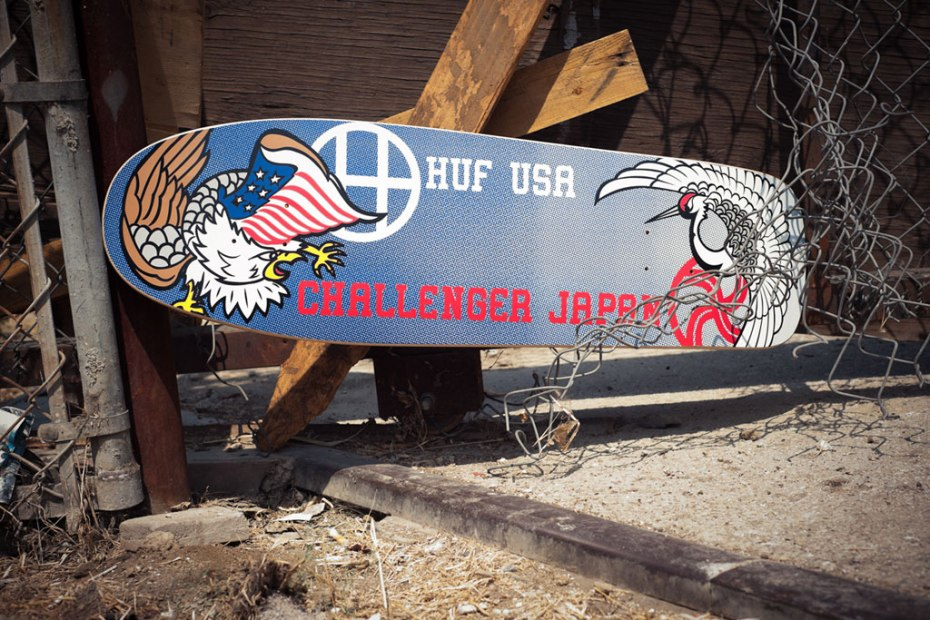 Image of Challenger x HUF Capsule Collection