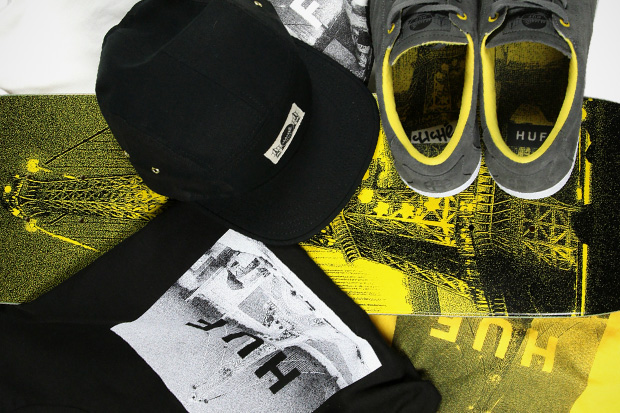 Image of HUF x Cliché Skateboards 2011 Fall Capsule Collection