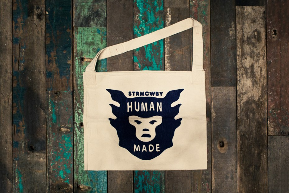 Image of HUMAN MADE Canvas Tote Bag