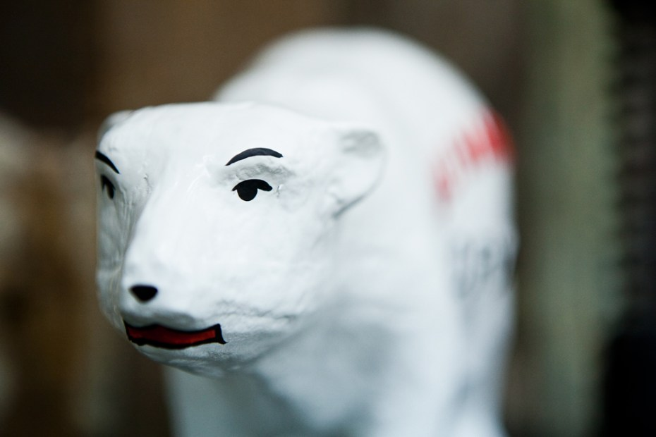 "Image of HUMAN MADE ""Polar Bear"" Figure"