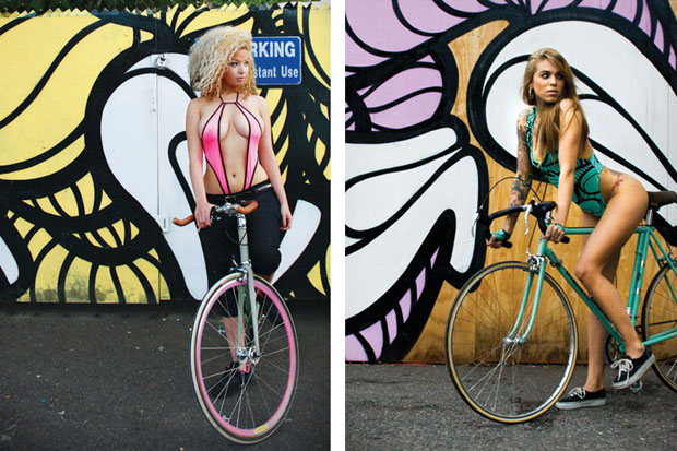 "Image of INSA ""Girls On Bikes"" Project"