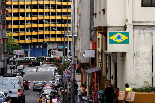 Image of Invader in Sao Paulo