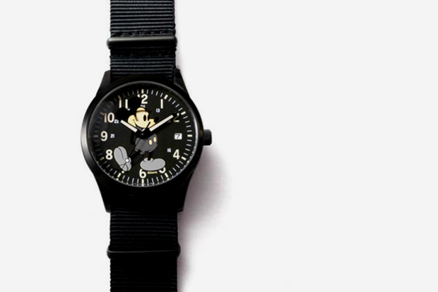 Image of JAM HOME MADE Secret Mickey Watch TYPE2 (MONOCHROME)
