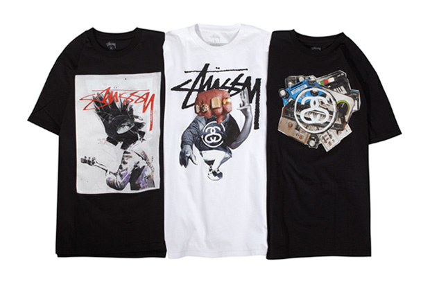 Image of James Gallagher x Stussy T-Shirt Collection