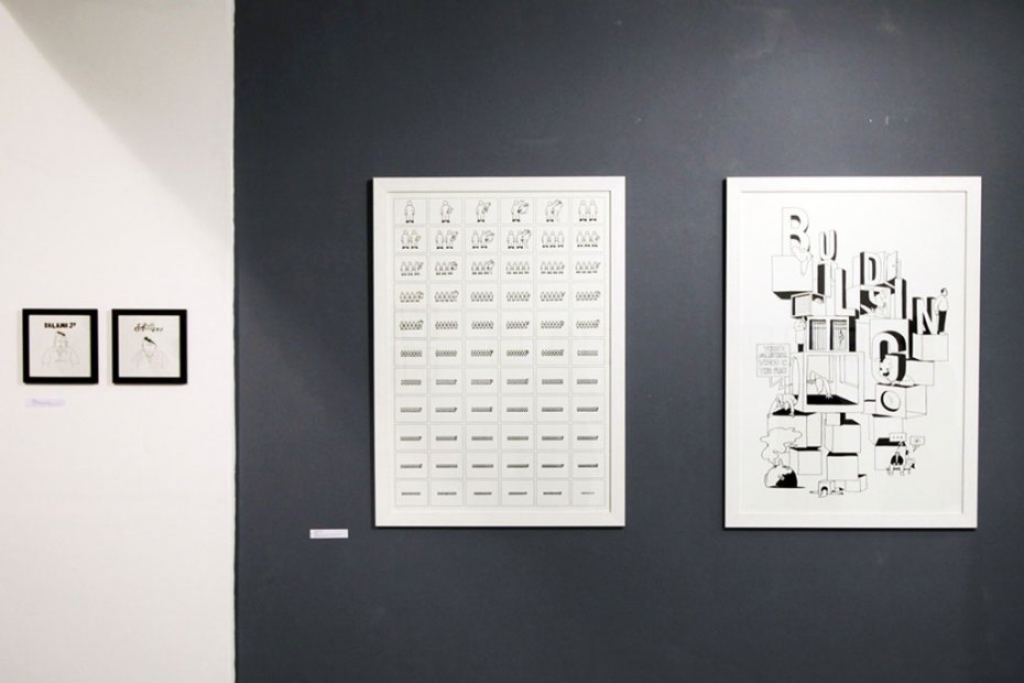 """Image of Jean Michel Tixier """"The Place To Be!"""" Exhibition @ Sergeant Paper Recap"""