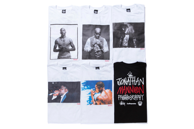 Image of Jonathan Mannion x Lafayette x Stussy T-Shirt Collection