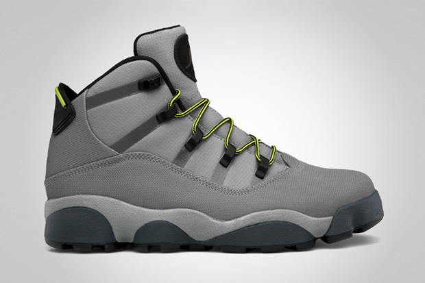 Image of Jordan Winterized 6 Rings Light Charcoal/High Voltage
