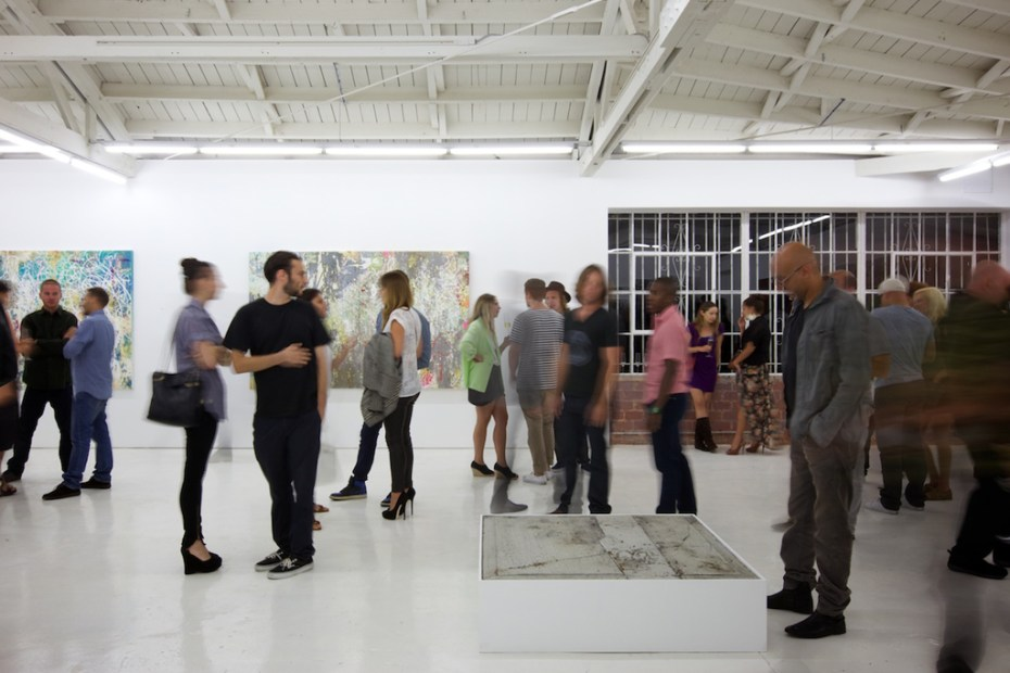 "Image of José Parlá ""Character Gestures"" Exhibition @ OHWOW Recap"