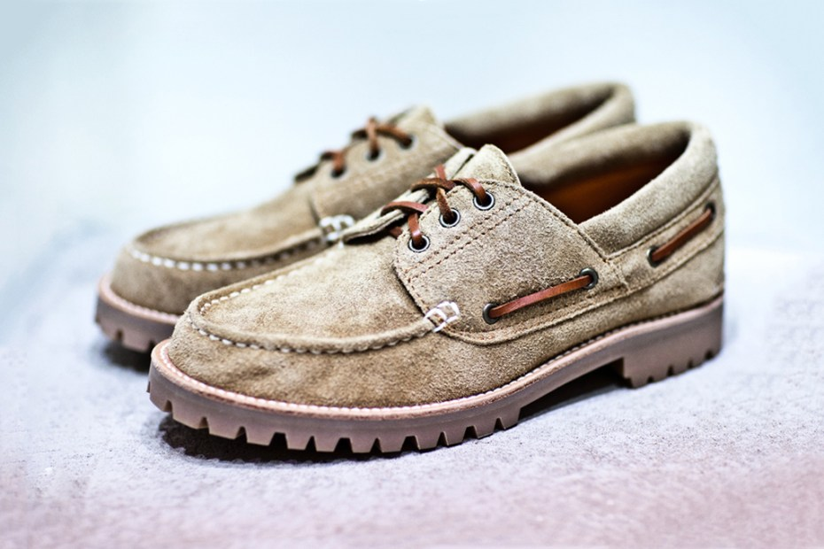 Image of Junya Watanabe COMME des GARCONS MAN Suede Boat Shoe
