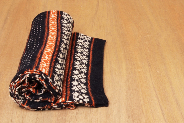 Image of Junya Watanabe COMME des GARCONS MAN Wool Fair Isle Muffler