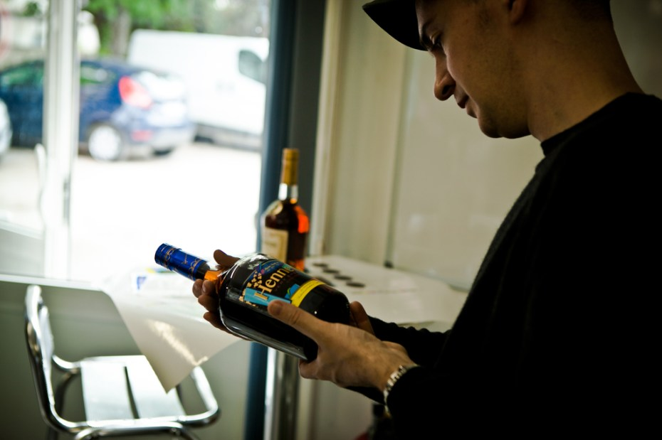 Image of KAWS Hennessy Headquarters Visit