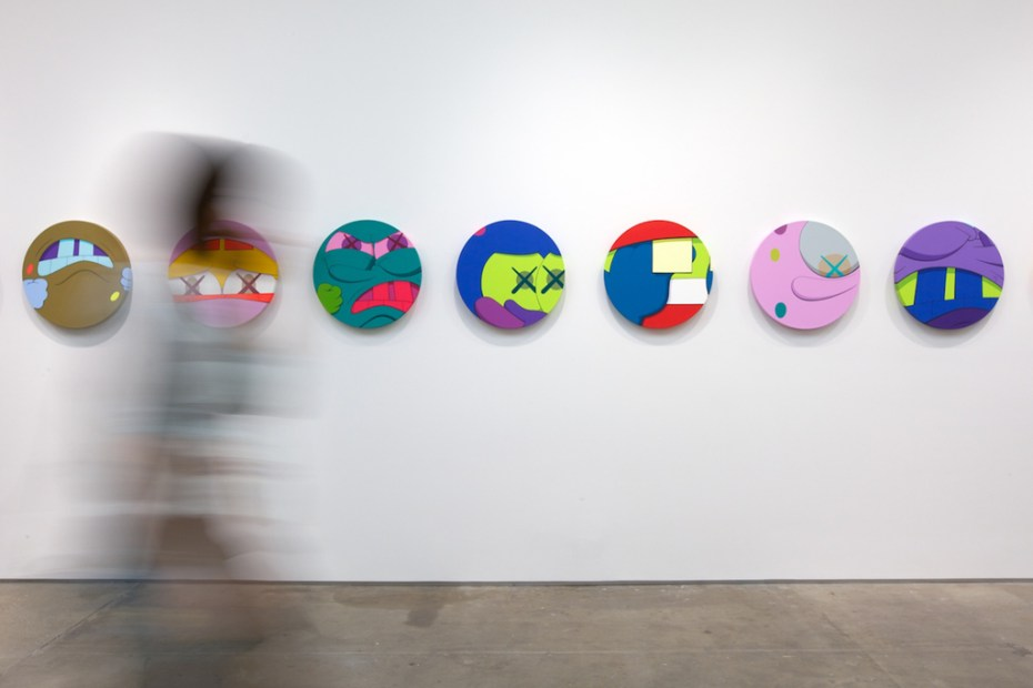 "Image of KAWS ""Hold The Line"" Exhibition @ Honor Fraser Recap"