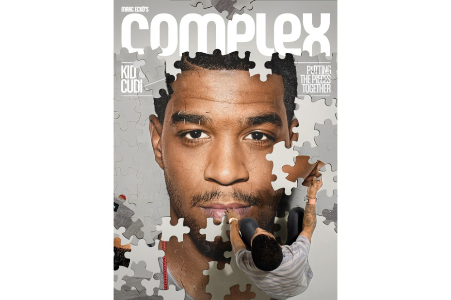 Image of Kid Cudi x Complex October/November 2011 Issue Cover
