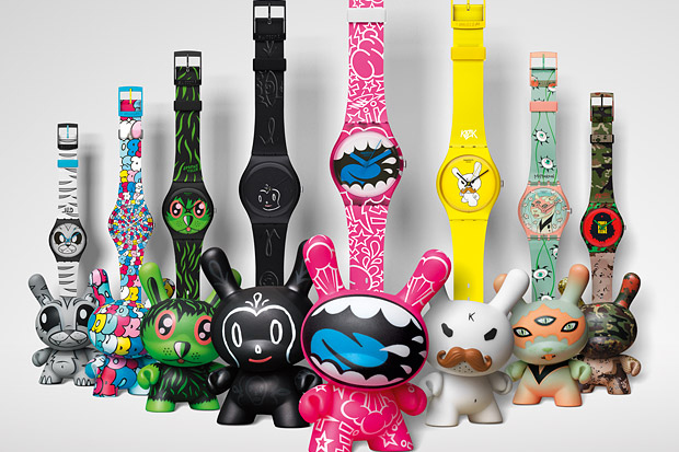 Image of Kidrobot x Swatch Feature and Interview