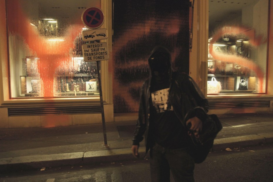Image of Kidult Vandalizes Louis Vuitton Paris