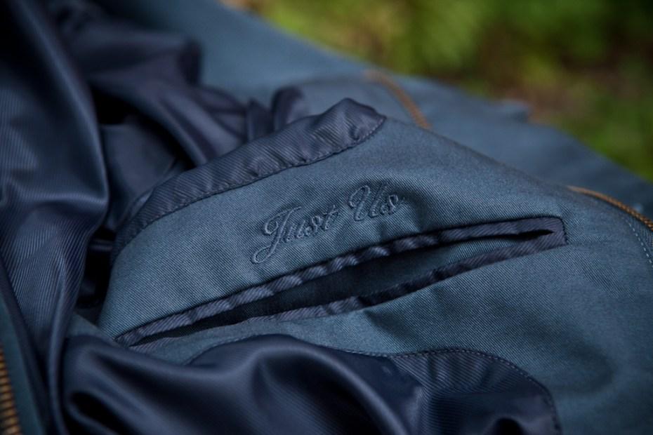 Image of Kith x Shades of Grey by Micah Cohen Baseball Jacket