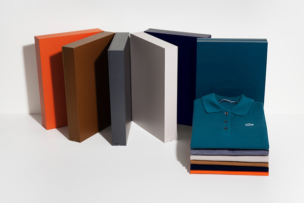 Image of Lacoste Limited Edition Cashmere Polo Series