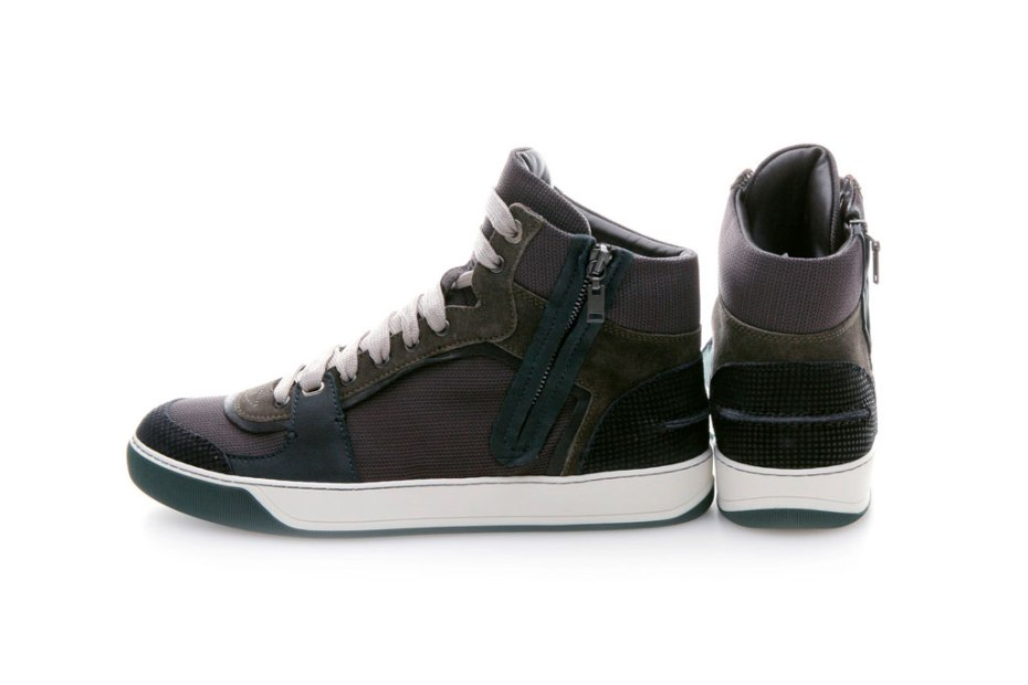 Image of Lanvin 2011 Fall/Winter High-Top Sneakers