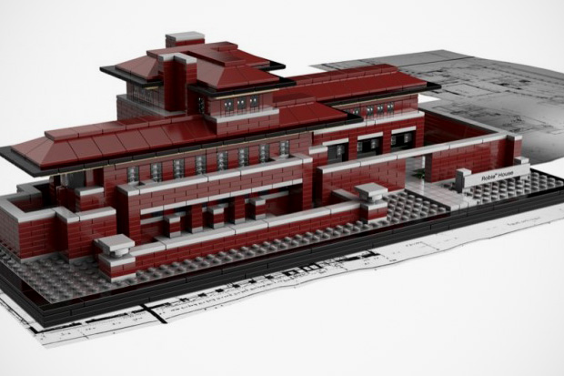 Image of LEGO Architecture Frank Lloyd Wright's Robie House