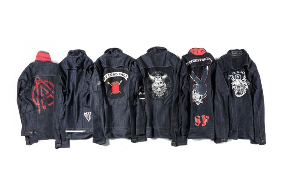 Image of Levi&#039;s Bike Crews Custom Trucker Jackets