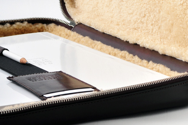 Image of Maison Martin Margiela Leather Laptop Case