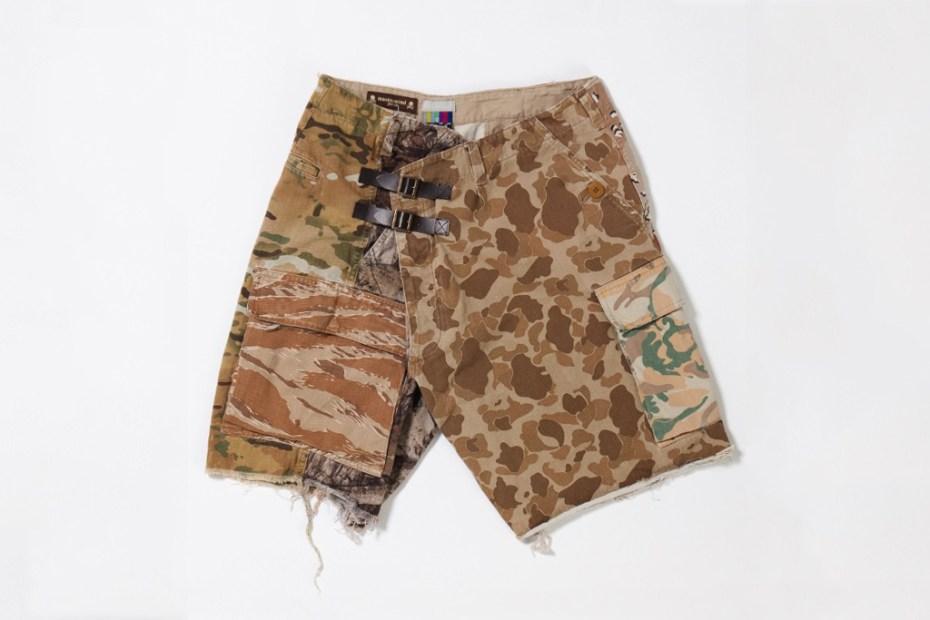 Image of mastermind JAPAN x FACETASM 2011 Fall/Winter Camo Shorts