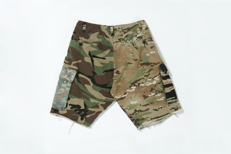 Image of mastermind JAPAN x FACETASM 2011 Fall/Winter Camo Shorts