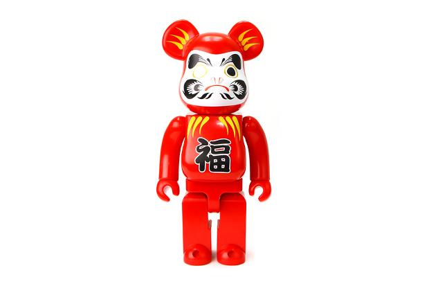 "Image of Medicom Toy Bearbrick 400% ""Daruma"""