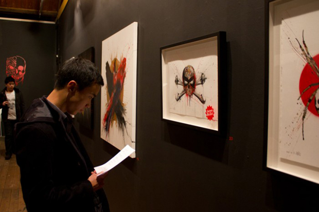 "Image of MEGGS ""Inner Demons II"" Exhibition Recap at Backwoods Gallery"