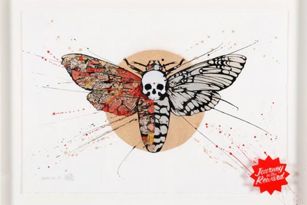 "Image of MEGGS ""Inner Demons II"" Exhibition Recap at Backwoods Gallery"