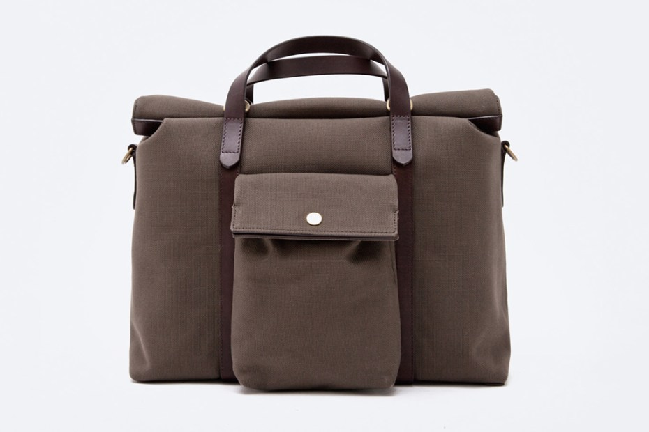 Image of Mismo MS Soft Work Army/Dark Brown