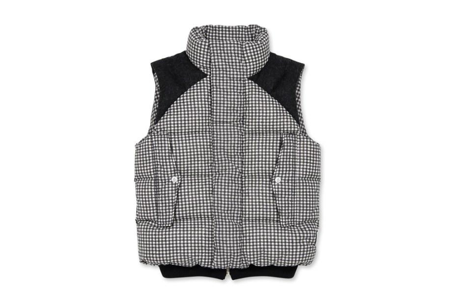 Image of Moncler Gamme Bleu Houndstooth Vest