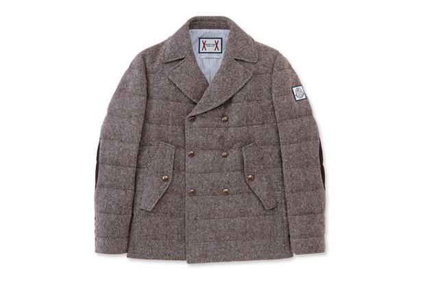 Image of Moncler Gamme Bleu Pea Coat