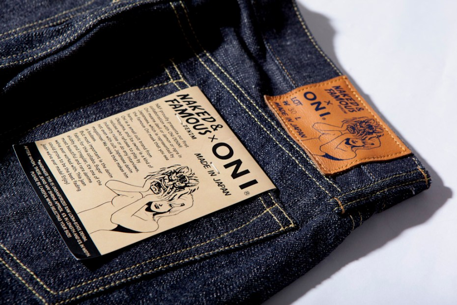 "Image of Naked & Famous x ONI JAPAN ""Weird Guy"" Denim"