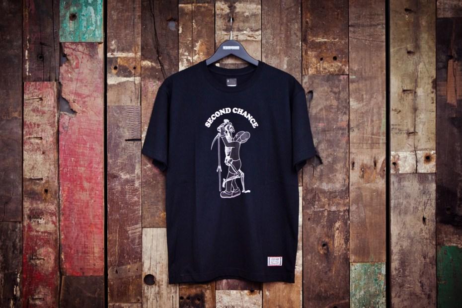 "Image of NEIGHBORHOOD x OriginalFake ""SECOND CHANCE"" T-Shirt"