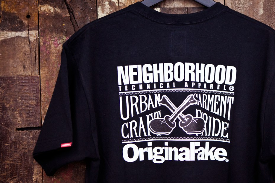 "Image of NEIGHBORHOOD x OriginalFake ""SECOND CHANCE"" T-Shirt"