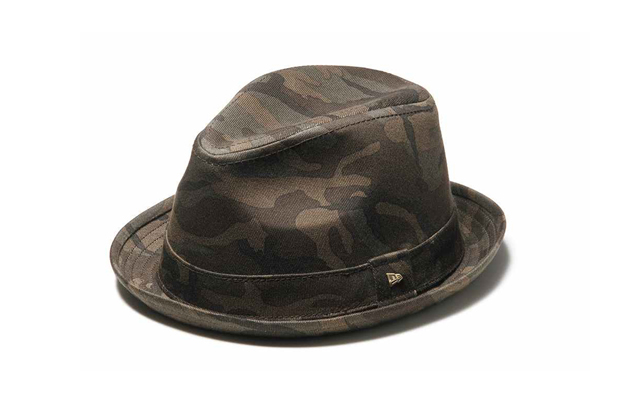"Image of New Era EK Fedora ""Woodland Camo"""