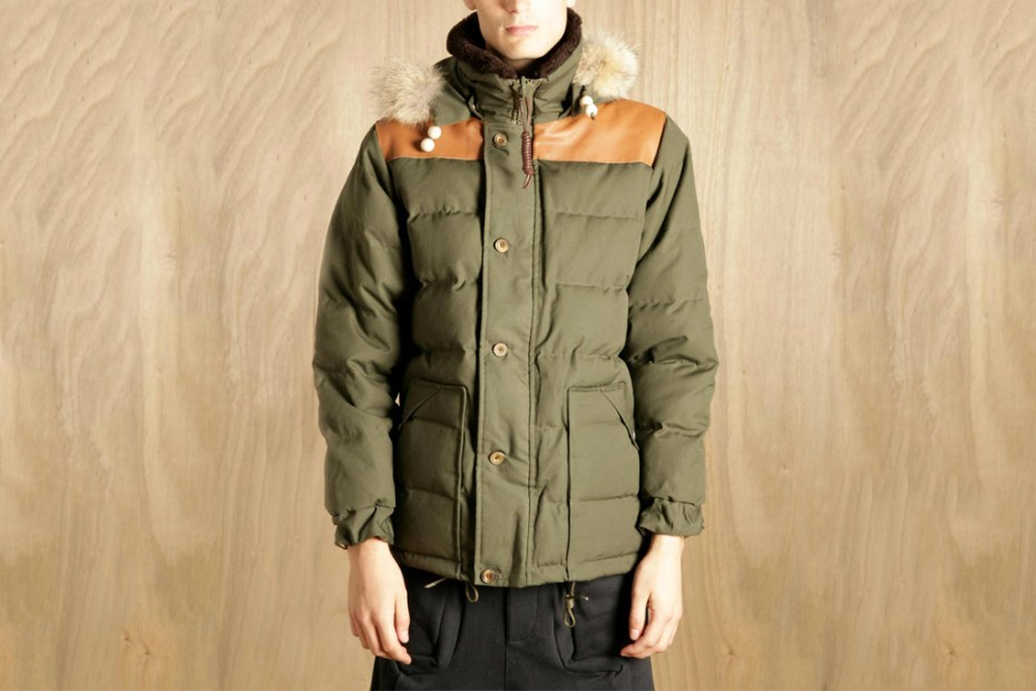 Image of Nigel Cabourn Men's Short Down Puffa
