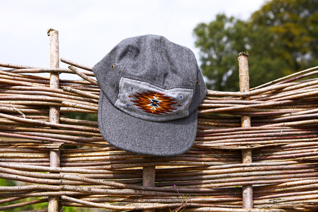 "Image of OBEY ""Wool Navajo"" 5 Panel Cap"