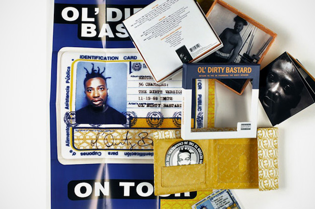Image of Ol' Dirty Bastard 'Return to the 36 Chambers: The Dirty Version' Deluxe Set