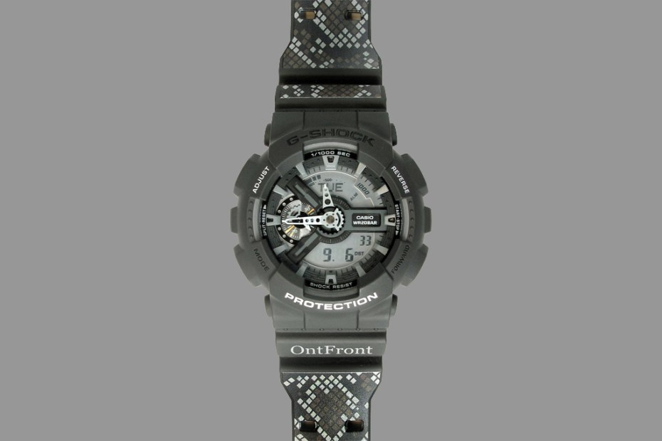 Image of OntFront x Casio G-Shock GA-110C