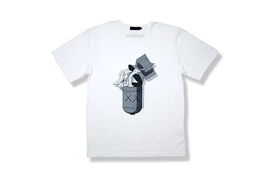 Image of OriginalFake KAWS Pecker Bomb T-Shirt Online Exclusive